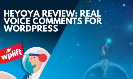Heyoya Review: Real Voice Comments for WordPress