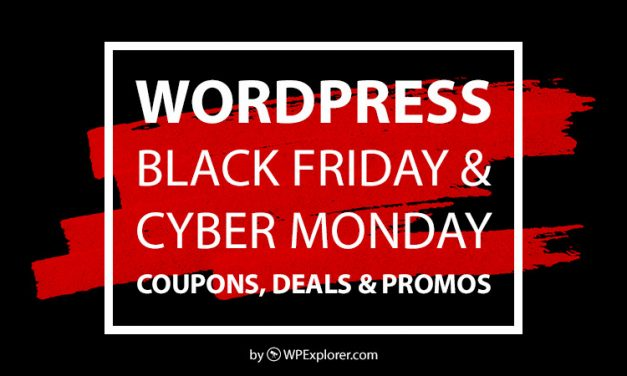 WordPress Black Friday & Cyber Monday 2019 Sales, Coupons & Deals