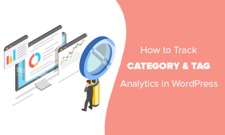 How to Track WordPress Category and Tag Analytics (Easy Way)