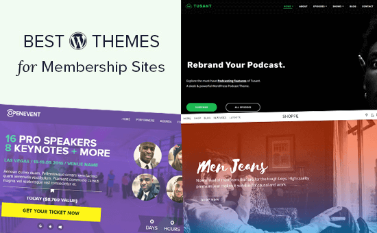 23 Best WordPress Themes for Membership Sites (2020)