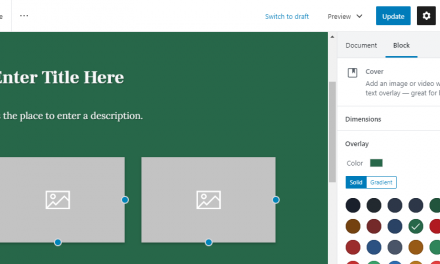 Create Custom Patterns with the Block Pattern Builder Plugin