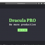 Dracula Pro For Optimizing Optimizing Dark Mode