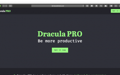 Dracula Pro For Optimizing Optimizing Dark Mode