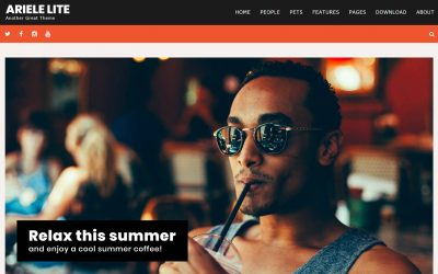 Ariele Lite Is a Fun and Refreshing Theme for WordPress Bloggers