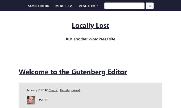 Armando WordPress Theme Provides Insight Into the Current State of Full Site Editing
